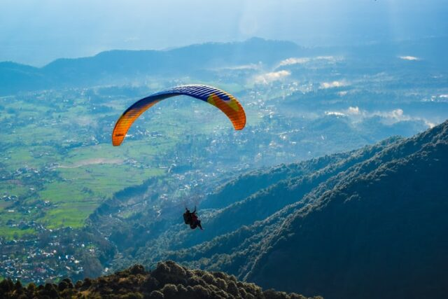 Adventurous Site For Paragliding in India